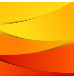 Abstract red orange yellow background overlap vector