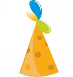 balloon hat vector image vector image