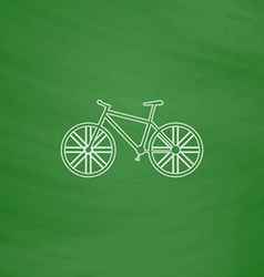 Bicycle computer symbol vector