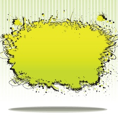 splash plate vector image