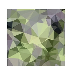 Asparagus green abstract low polygon background vector