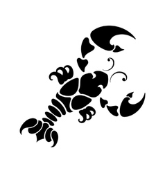 Zodiac sign cancer vector