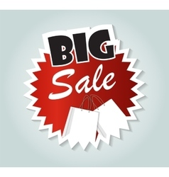 Big sale label sign for your business vector