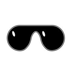 Glasses meme art style gangster thug lifestyle vector