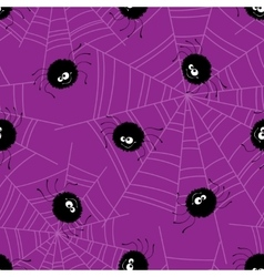 Halloween seamless pattern background vector