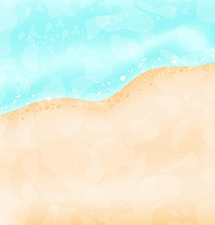 Holiday background - beach sea sand vector image vector image