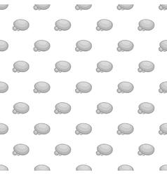 Stones pattern cartoon style vector