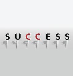 Success word vector