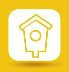 Housebird design vector