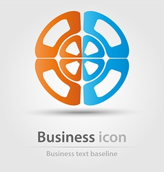 Originally created business icon vector