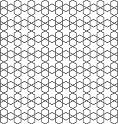 Delicate seamless pattern in islamic style with vector image