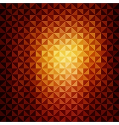creative triangle pattern background vector image