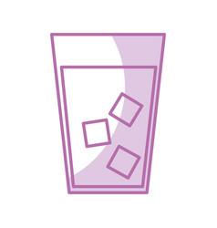 Juice tropical fruit beverage vector