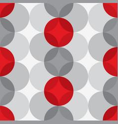 Retro atomic 1950s mid century vintage background vector
