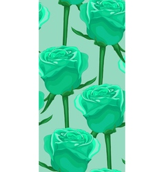 Seamless background with blue roses vector