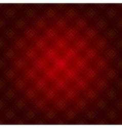Red fabric tartan background vector