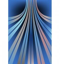 Bent lines vector