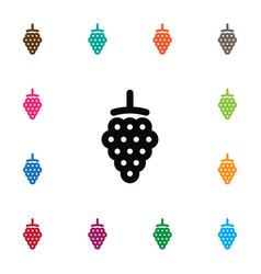 Isolated dewberry icon blackberry element vector