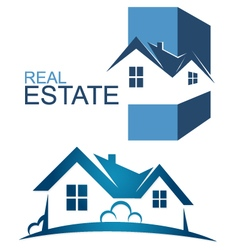 Real Estate symbol vector image vector image