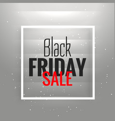 Great black friday sale background with gray vector