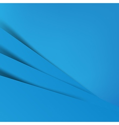 Abstract blue background overlap layer and shadow vector