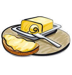 butter vector image vector image