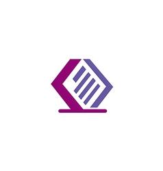 Data paper storage file logo vector