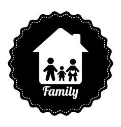 famly home design vector image