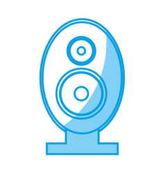 Speaker amplifier icon vector