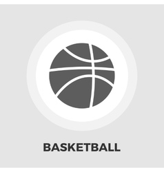 Basketball flat icon vector
