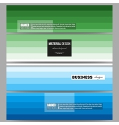 Banners set abstract colorful business background vector