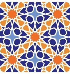 Arabic islamic seamless patterncolored vector