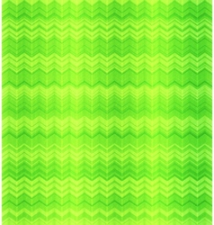 Green abstract zigzag textile seamless pattern vector image vector image