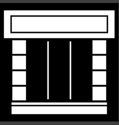 shopfront icon vector image