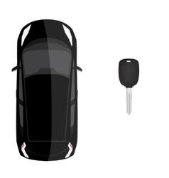 Car loan concept vector image
