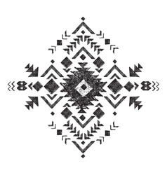 hand drawn tribal design element vector image