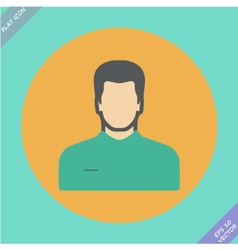 icon of man - vector image