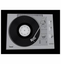 vinyl vector image vector image