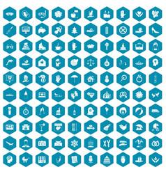 100 joy icons sapphirine violet vector