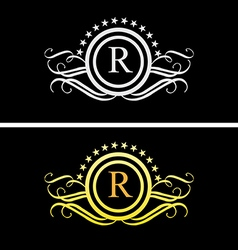 Luxury logo 1 vector