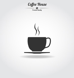 Coffe cup icon vector