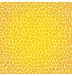 Abstract yellow background with cells not seamless vector