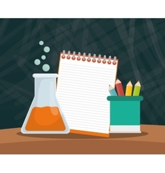 back to school icon set design vector image