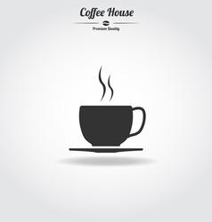 Coffe cup icon vector image