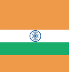 India flag for independence day and infographic vector