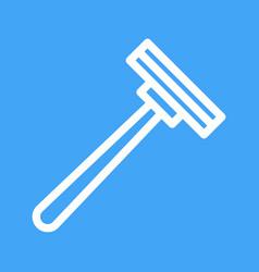 Shaving blade vector