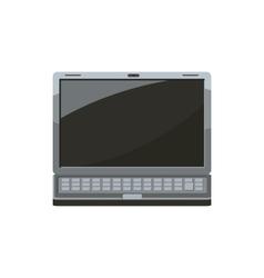Laptop icon cartoon style vector image