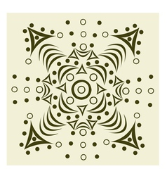 Ornament abstract pattern vector image