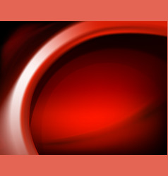 red oval background vector image vector image