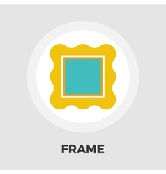 Frame flat icon vector